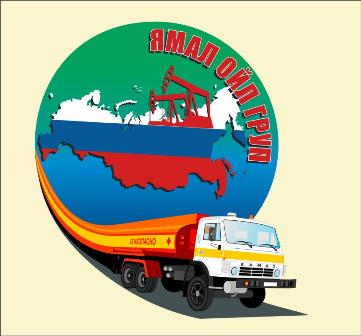 Отрисовка логотипа yamal_groop