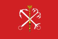Флаг Санкт-Питербурга