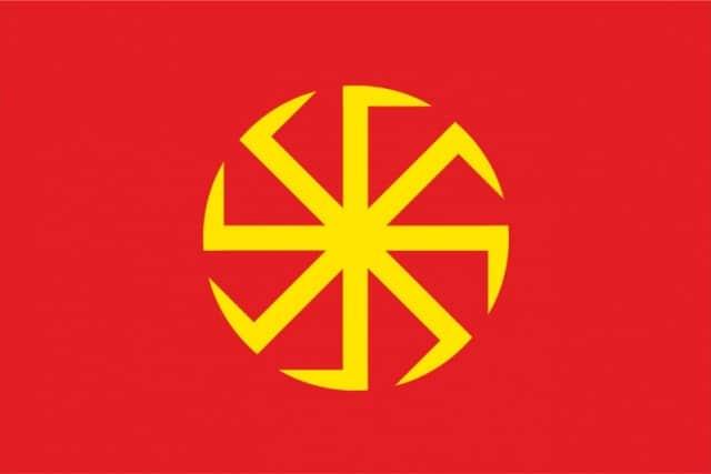 Исторический флаг Колаврат