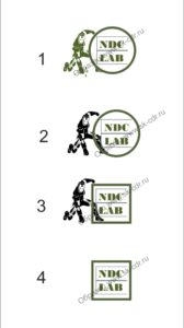 Отрисовка и доработка логотипа лаборатории неразрушающего контроля