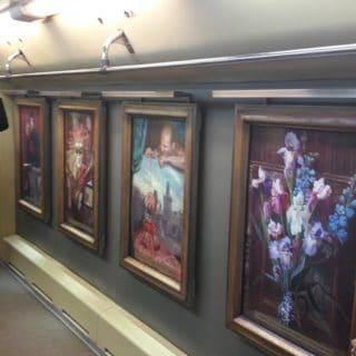 Необычные фото: Поезд - галерея (Московское метро)
