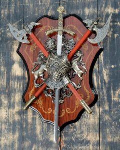 Стоимость работ на производство 3D гербов