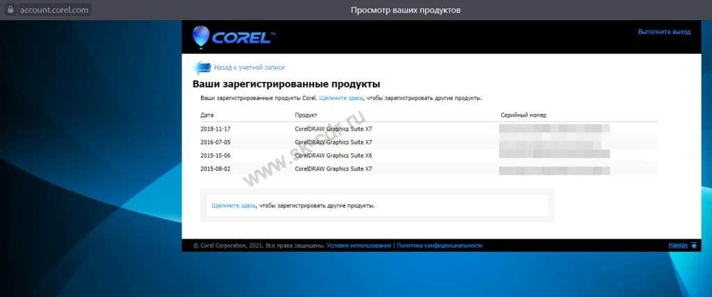 CorelDRAW лицензия